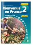Bienvenue en France 2 Junior Cert Book & Workbook 4th Edition 2018 Folens
