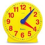 Big Time 12Hr Demonstration Clock Learning Resources