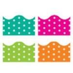 "Border Variety Pack 4 Designs 156"" Per Pack Polka Dots"