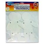 Paper Cut Outs Boys 4 Pieces Movable parts