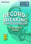 Guinness World Records Record Breaking Comprehension Teachers Book