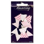 Craft Bunting 50cm Pink Icon