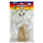Fans Butterfly 10 Pack Crafty Bitz