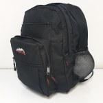 Ridge 53 School Bag College Black 34 Litres