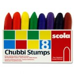 Chubbi Stumps 8 Pack Scola