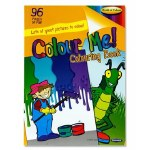 Colouring Book Colour Me 96 page