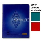 Copy 88 page Plastic Cover in a choice of 3 Colours Ormond