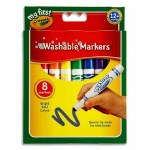 Markers Washable 8 Pack Jumbo Crayola