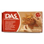 Das Modelling Clay 1kg Brown