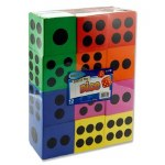 Large Foam Dice 12 assorted pack