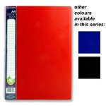Display Book 40 Pocket A4 in a choice of 3 Colours