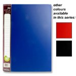 Display Book 80 Pocket A4 in a choice of 3 Colours