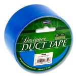 Designer Duct Tape 48mm x 9m Blue Icon