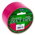 Designer Duct Tape 48mm x 9m Pink Icon
