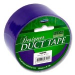 Designer Duct Tape 48mm x 9m Purple Icon