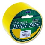 Designer Duct Tape 48mm x 9m Yellow Icon