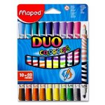 Color Peps Double Ended Markers 10 Pack Maped