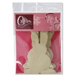 Craft Bunnies 6 strong MDF