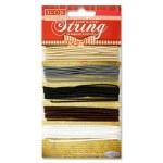 Plain Elasticated String 5 Pack