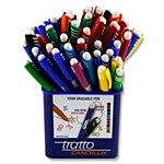 Pen Eraseable Tratto Green
