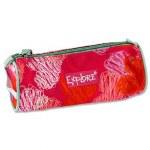 Explore Pencil Case Pink & Orange Hearts