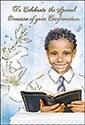 Praying Boy Confirmation Card