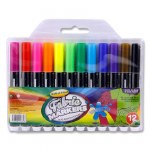 Fabric Markers 12 Pack World of Colour
