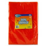 Felt 10 Sheets Orange A4 Crafty Bitz