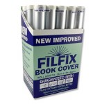 Filfix Book Cover 5m Easy to use cover approx 10 Books