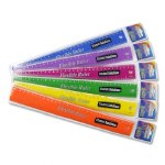 Ruler 30cm Flexible in a choice of 6 bright colours