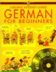 German for Beginners Book and CD Usborne Internet Linked