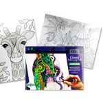 Icon Giant Colouring Pad
