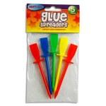 Glue Spreaders 5 Coloured Pack