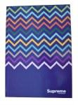 Hardback A4 160 Pages Fancy Blue Supreme