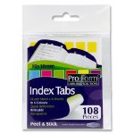 Index Tabs 108 Coloured Tabs