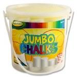 White Jumbo Chalk 15 Tub World of Colour
