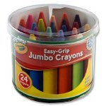 Crayons Easy Grip Jumbo Crayola 24 Tub