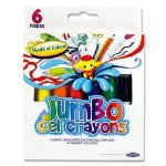 Crayons Jumbo Gel 6 Pack World of Colour