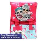 LOL Surprise School Bag Square 40cm Backpack