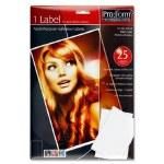 Labels 25 Sheets Pro Form 1 Label 199mm x 289mm