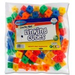 Linking Cubes 100 Bright Cubes
