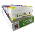 Smash Lunch Box Medium Size Clear