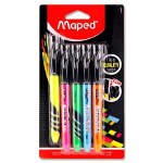 Maped Fluo'Peps Highlighter Pens 5 Pack