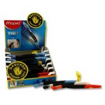 Left Handed Pen Black Maped