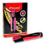 Highlighter Maped  Fluo'Peps Soft Pink