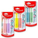 Pastel Highlighters 2 Pack Maped