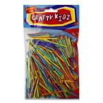 Matchsticks Coloured 75g Pack