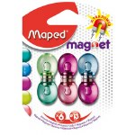 Mini Magnets 6 assorted Maped