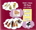 Music Made Easy 6 CD Pack of 12 CDs Sixth Class