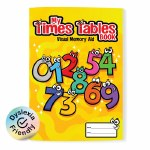 My Times Tables Book Visual Memory Aid Just Rewards